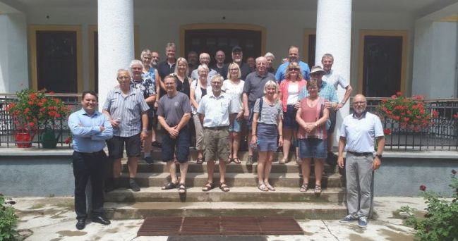 Danish investors visited the Dan-Farm Hungary Kft.